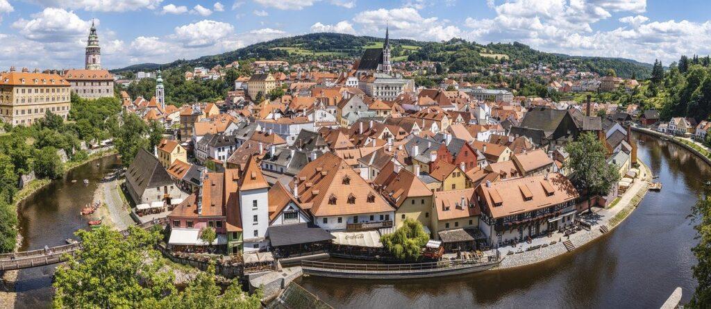 Mooiste steden in Tsjechië: Cesky Krumlov