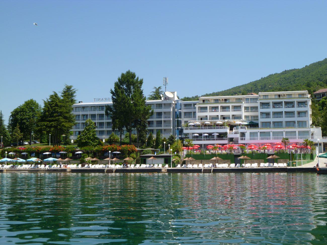 Hotel Granit aan het Meer van Ohrid