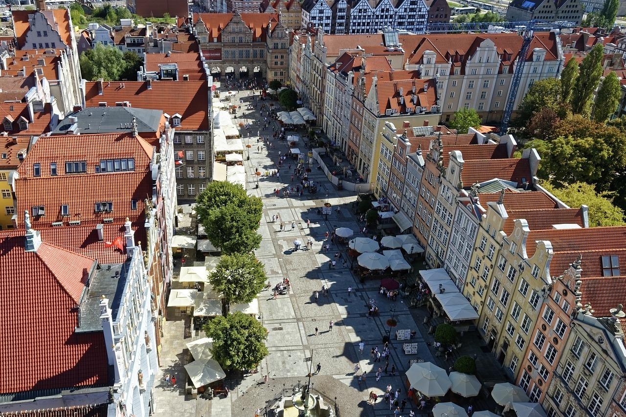 Lange Markt in Gdansk