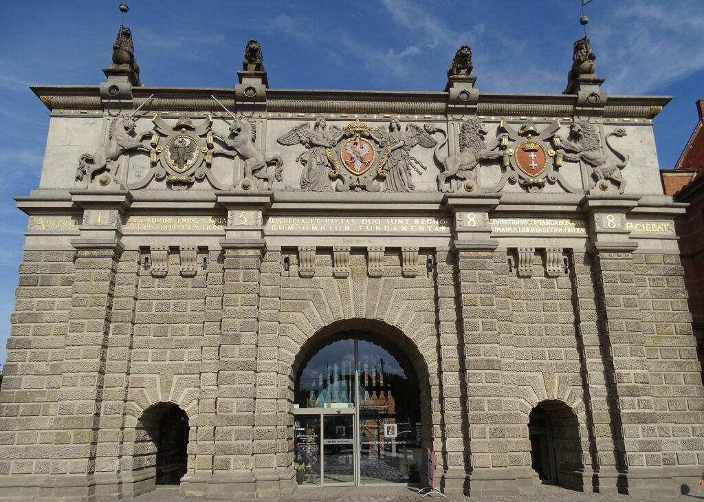 Bezienswaardigheden Gdansk: Hooglandse Poort