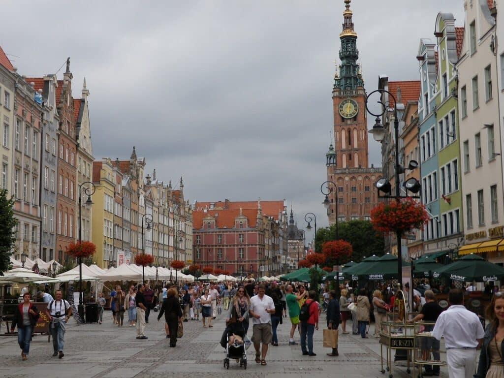 Rechtsstadsraadhuis bezienswaardigheden Gdansk