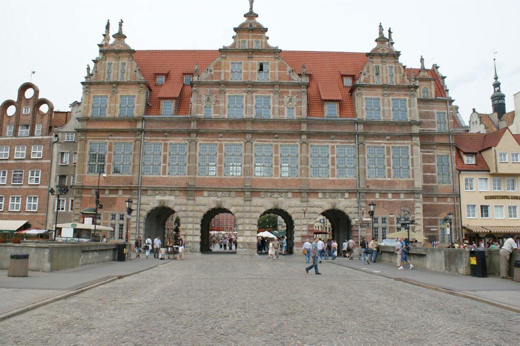 Bezienswaardigheden Gdansk: Groene Poort