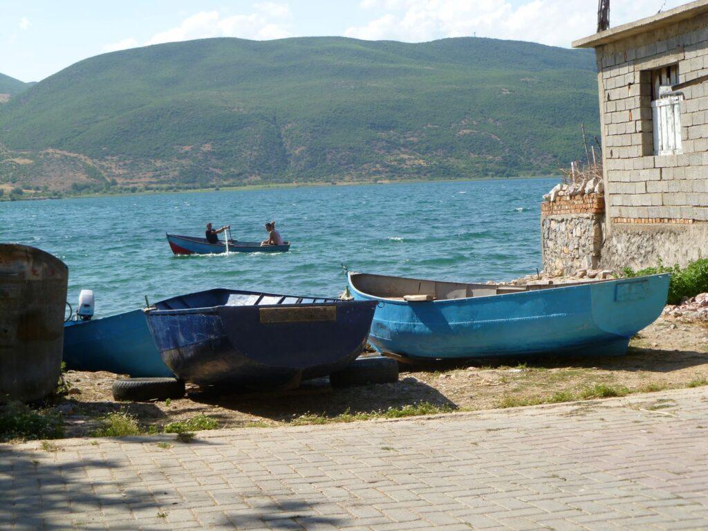 Excursie Albanië - Meer van Ohrid