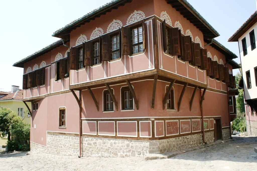 Balabanov huis in Povdiv