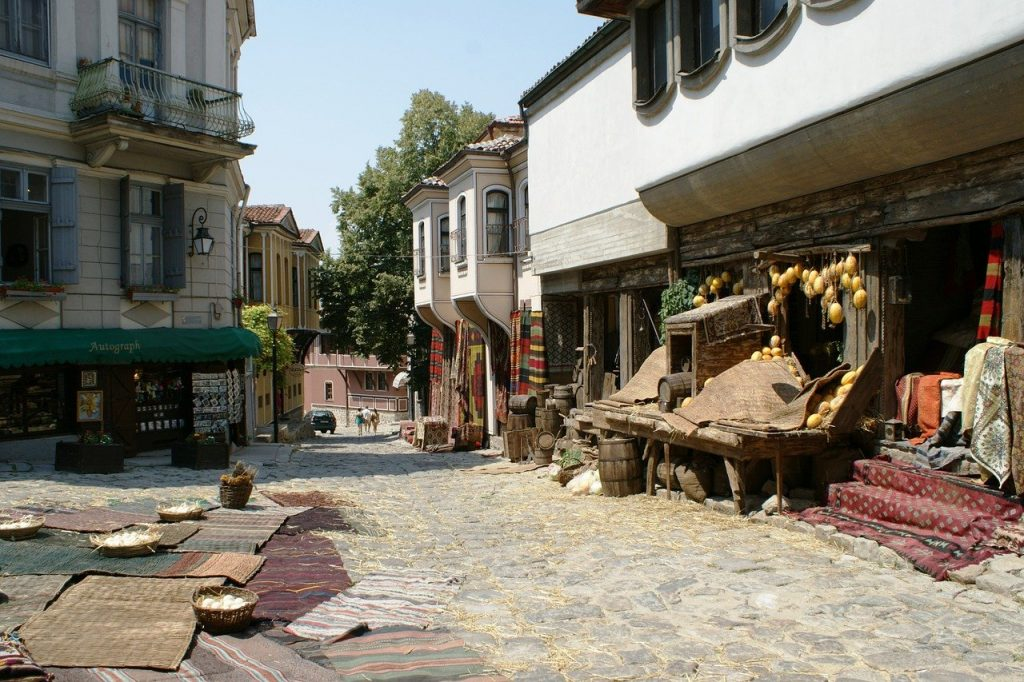 Historische binnenstad van Plovdiv