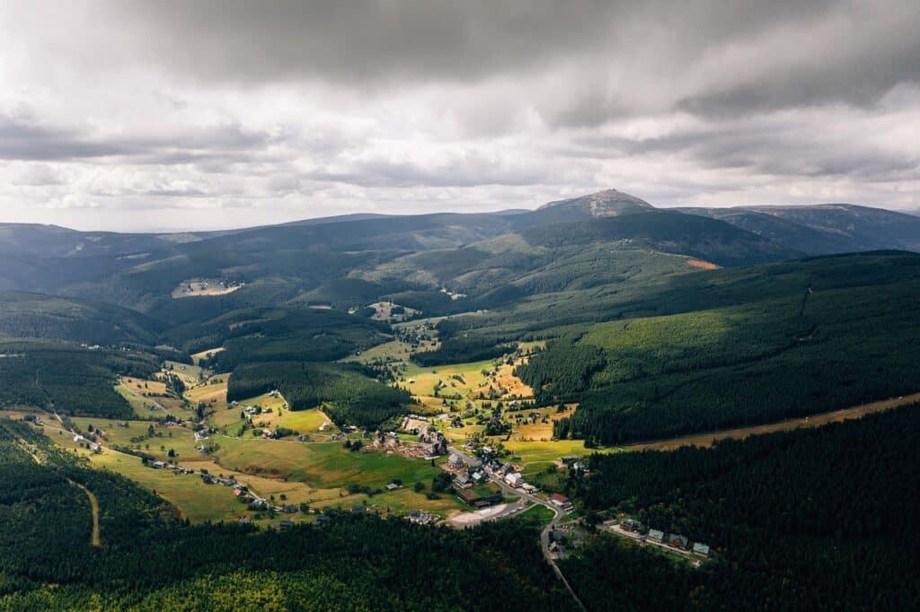 Snezka - nationaal park Krkonoše