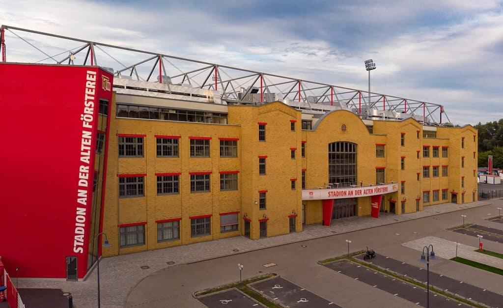 Hoofdtribune stadion Alten Försterei