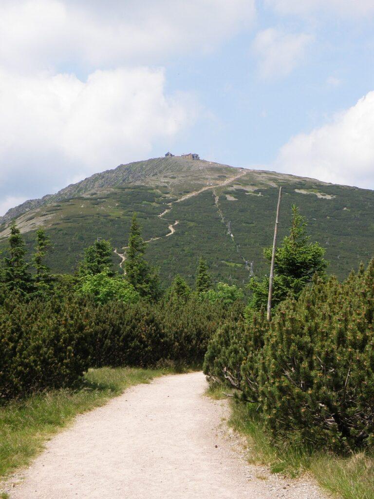 Wandelen op de Snezka