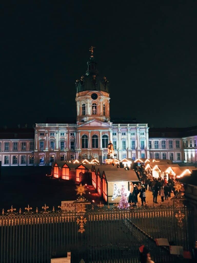 Kerstmarkten Berlijn: Schloss Charlottenburg