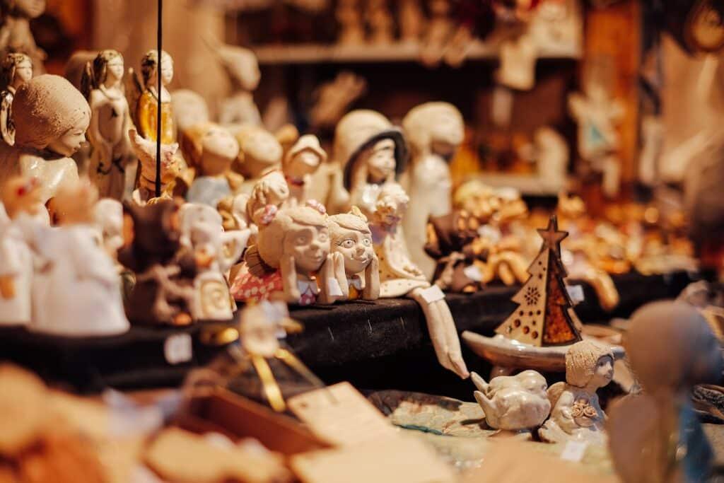Handwerk in de kerststalletjes
