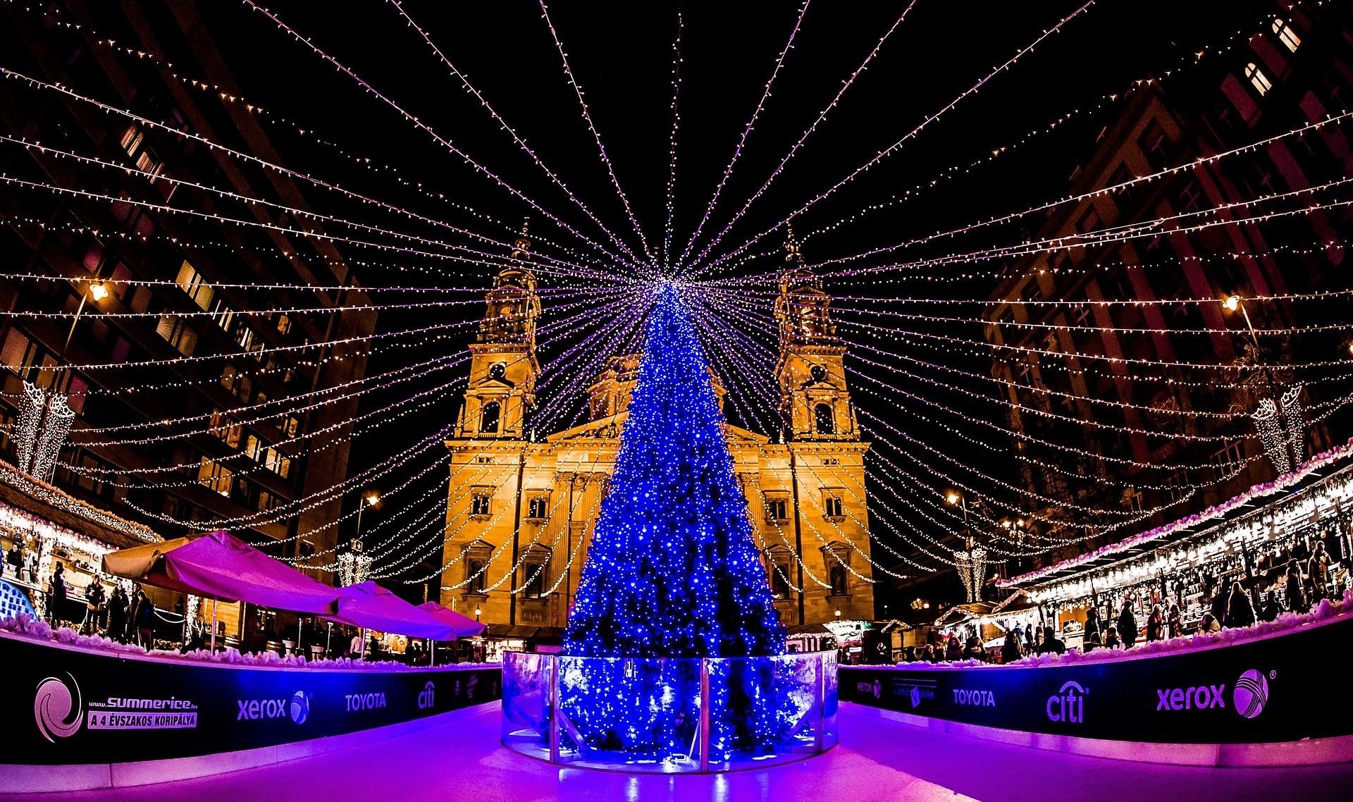 Kerstmarkt Boedapest