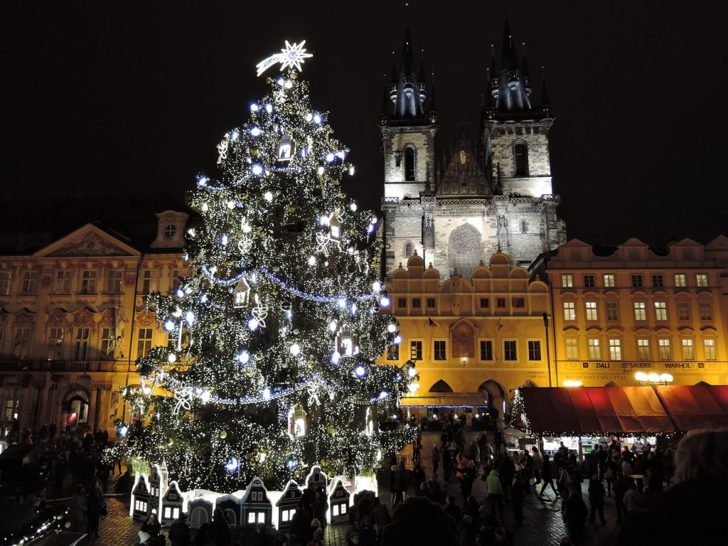 Kerstmarkt Praag