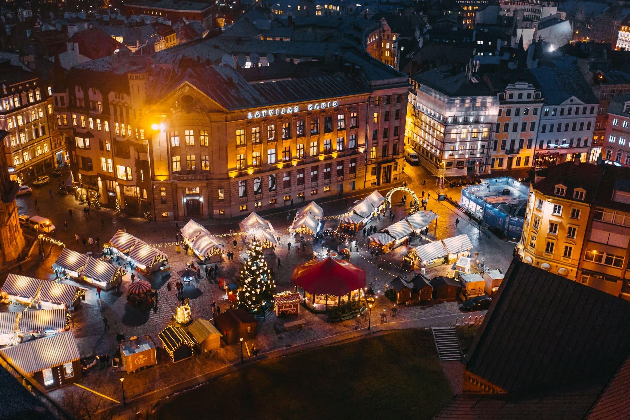 Kerstmarkt Riga