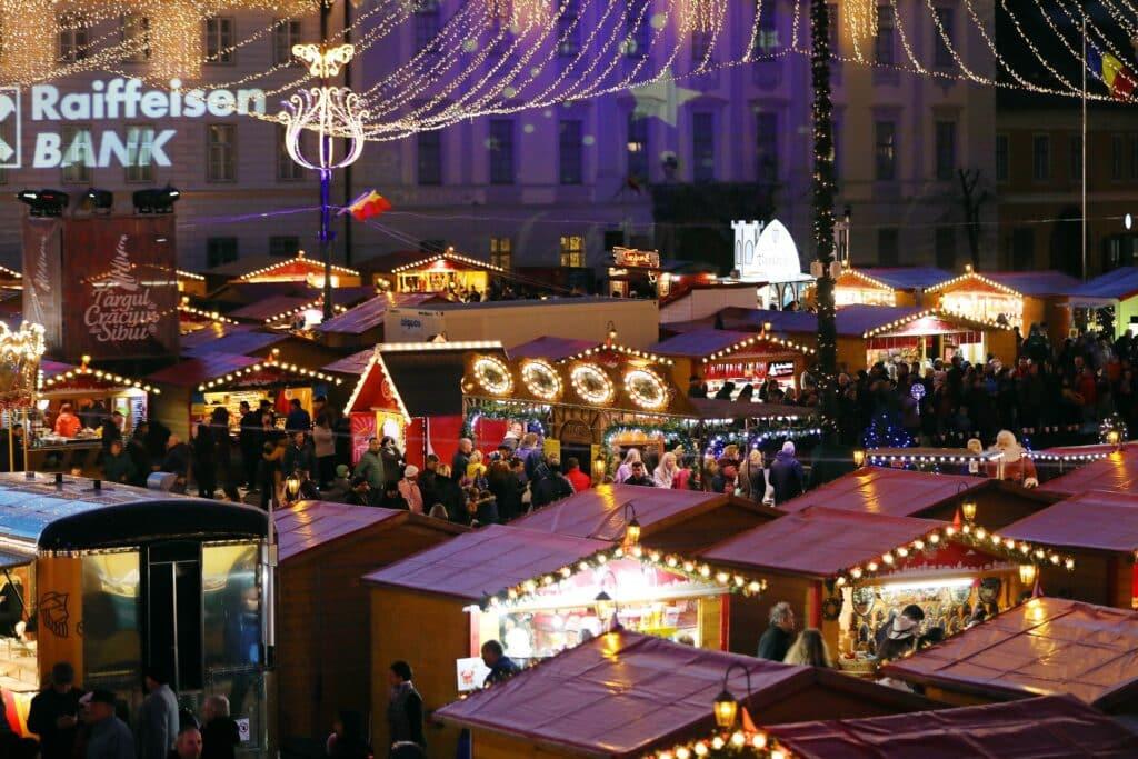 Kerstmarkt Sibiu