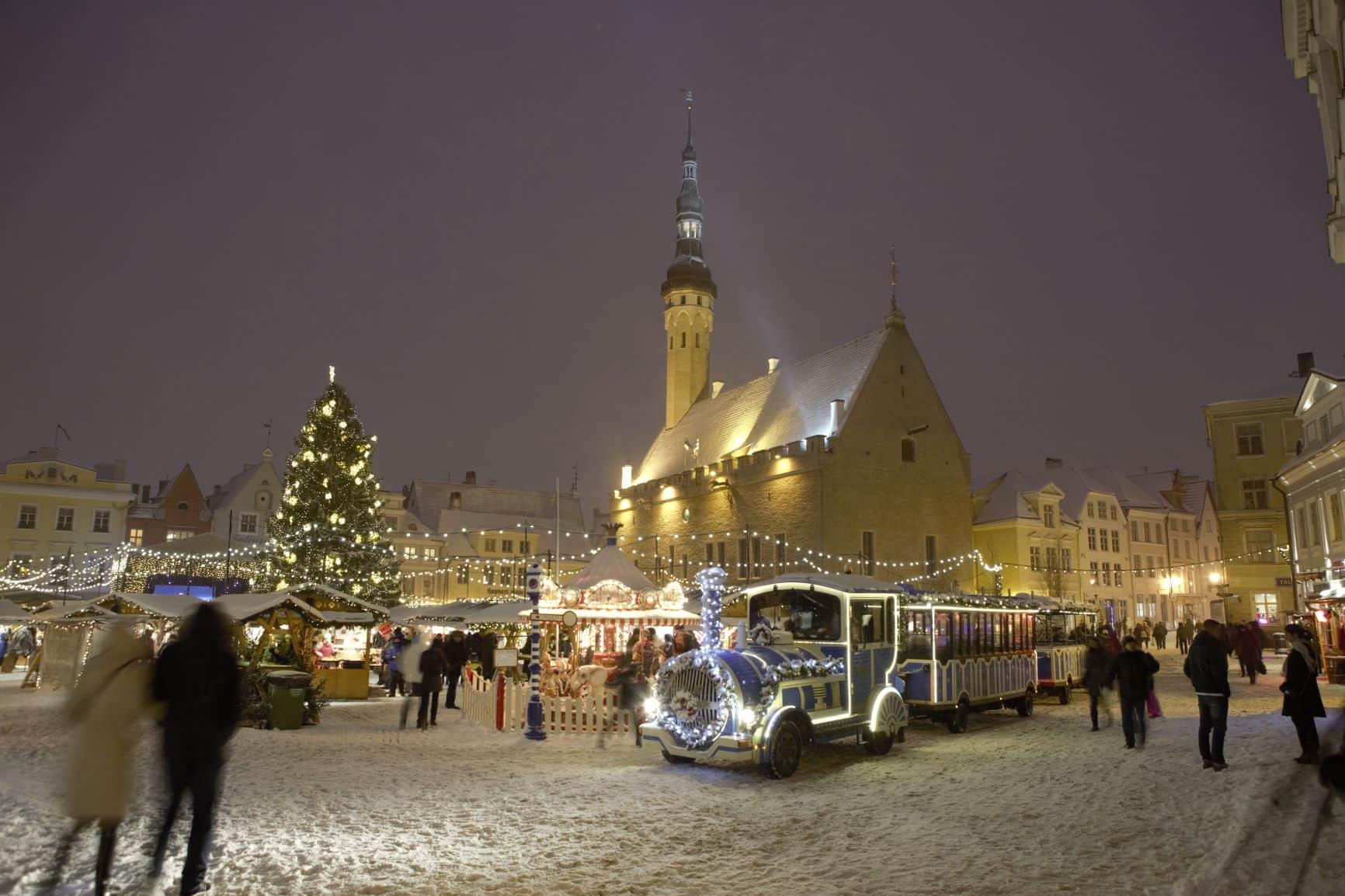 Kersttrein Tallinn