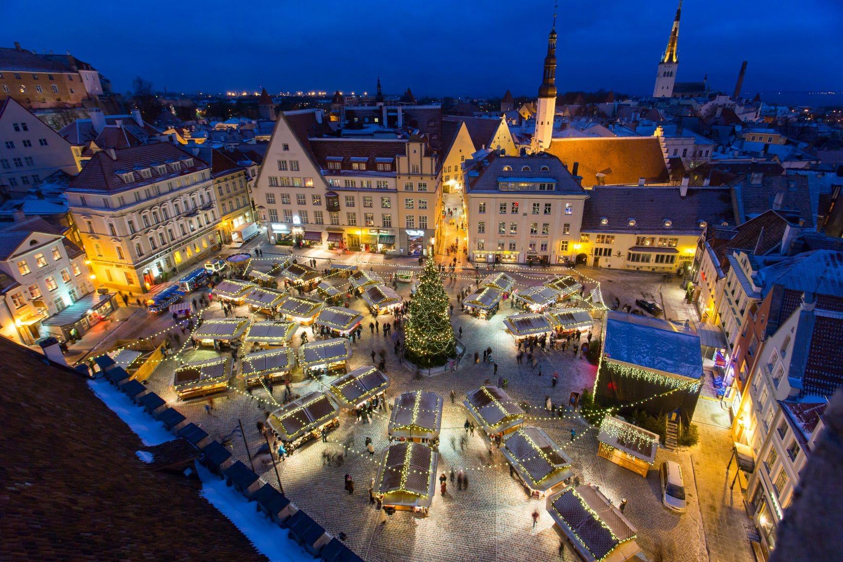 Kerstmarkt Tallinn