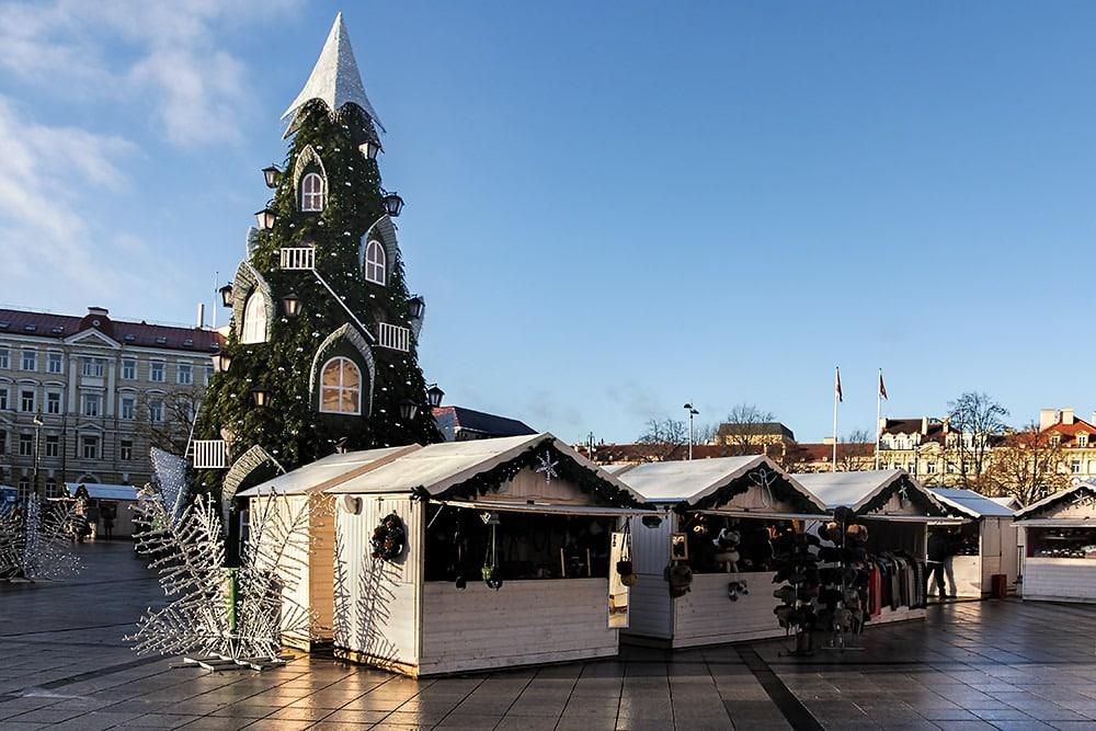 Kerstmarkt Vilnius