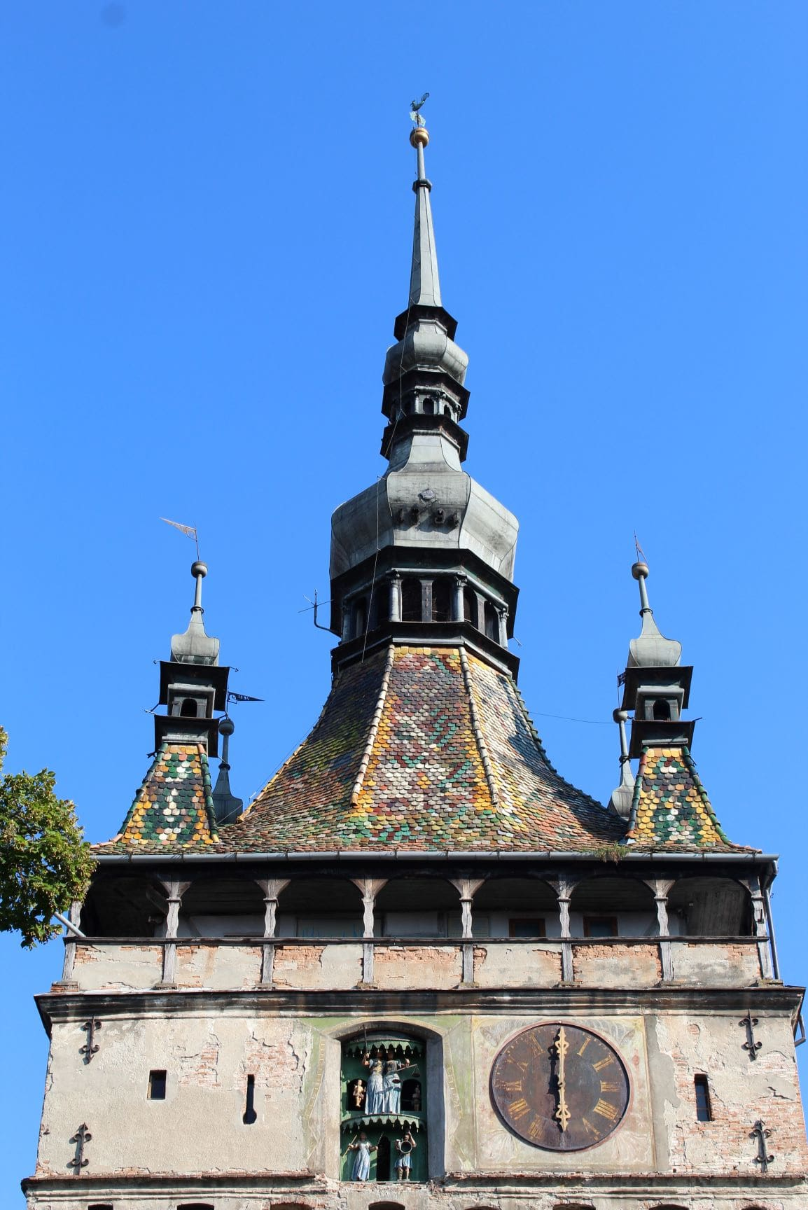 ROndreis Roemenie - KLokkentoren Sighisoara