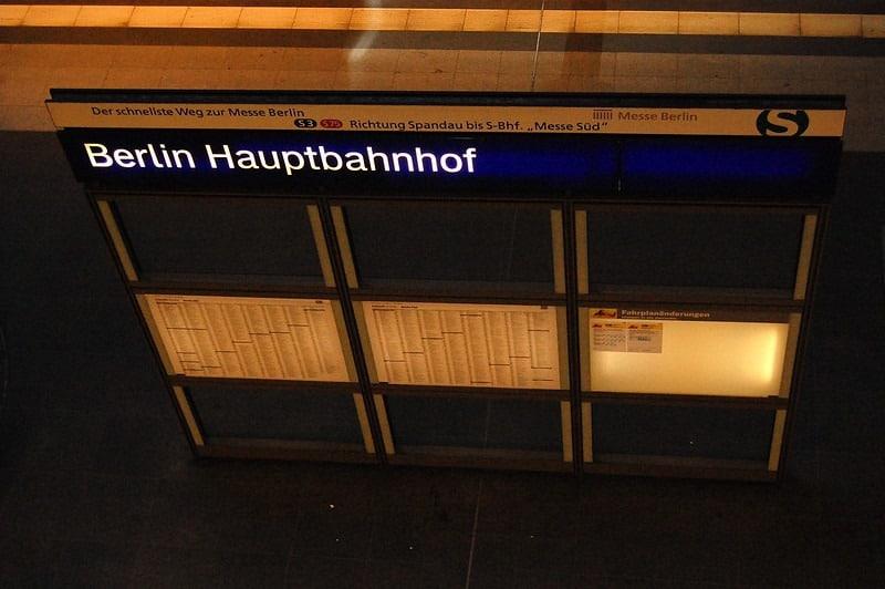 Berlin Haubtbahnhof