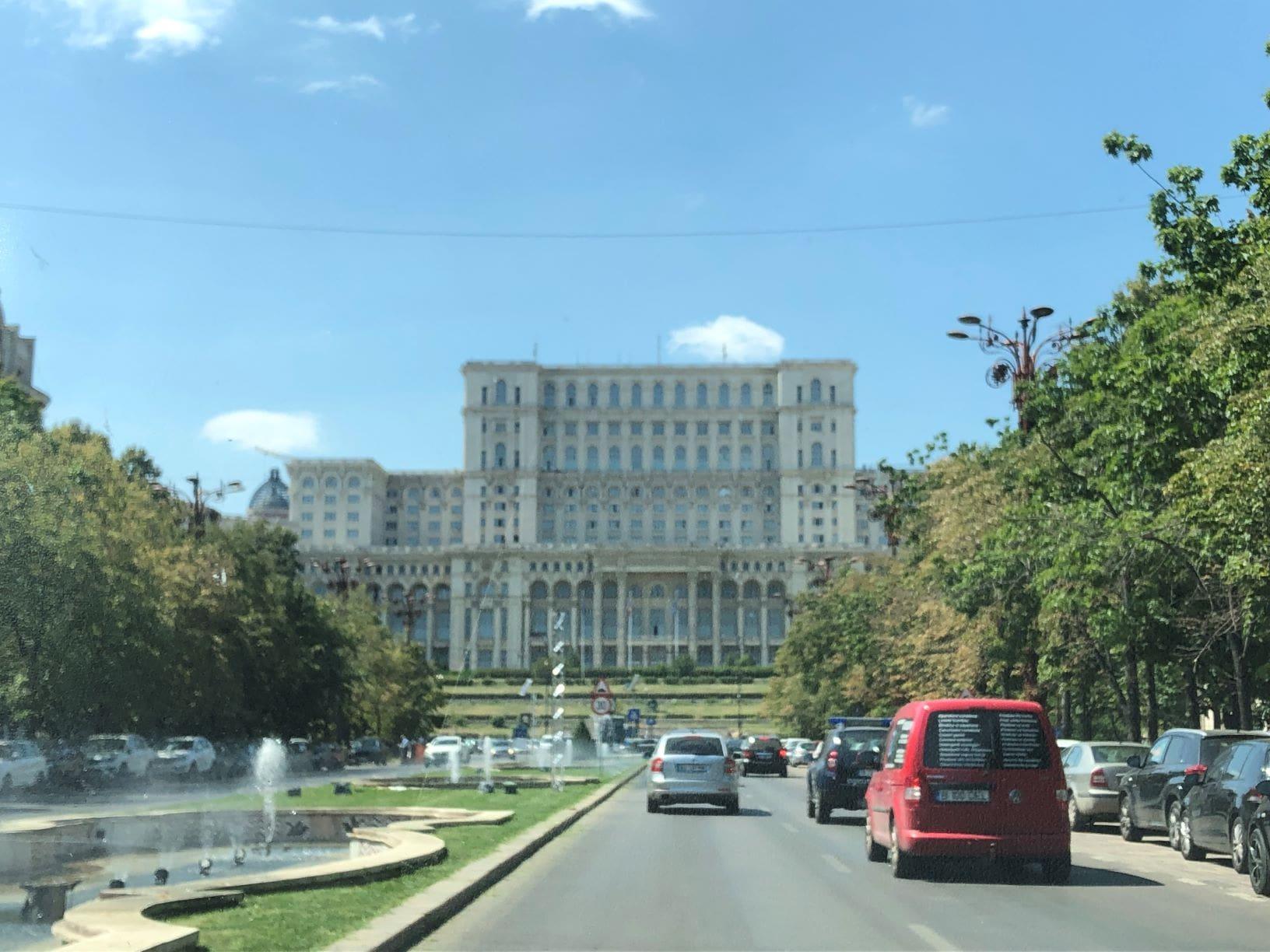 Parlementsgebouw Boekarest