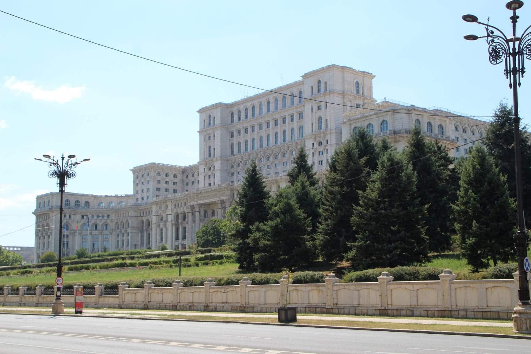 Parlementesgebouw Boekarest