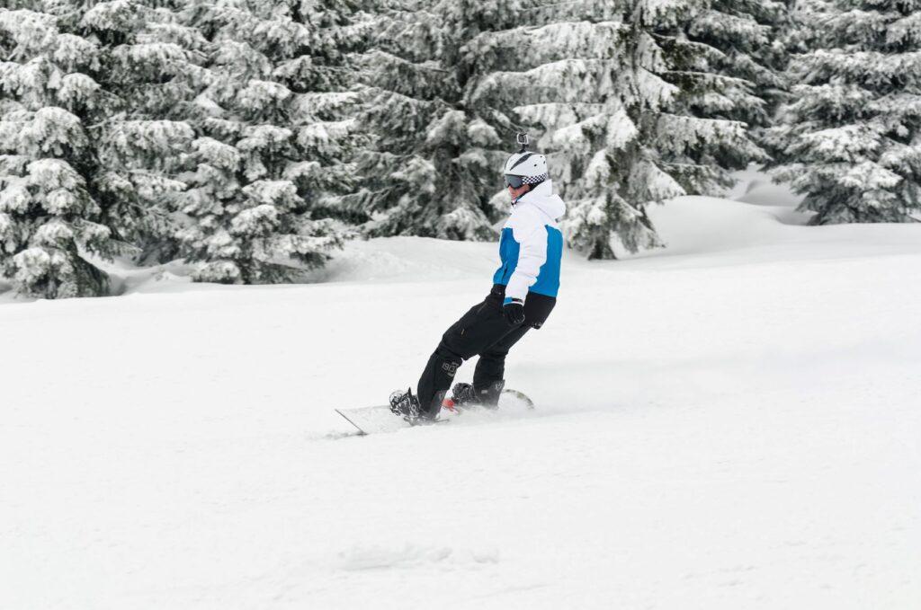Špindlerův Mlýn snowboarden
