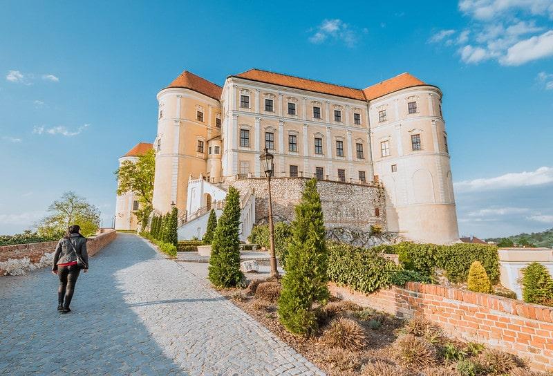 Wie is de mol - kasteel Mikulov