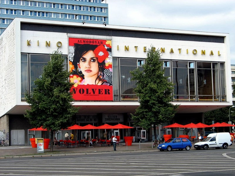 Kino International aan de Karl-Marx-Allee