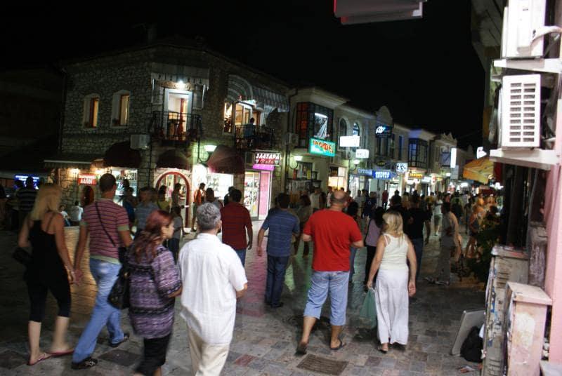 Ohrid 's avonds