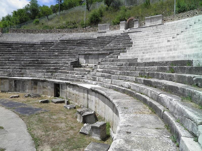 Heraclea Lyncestis - Romeins theater