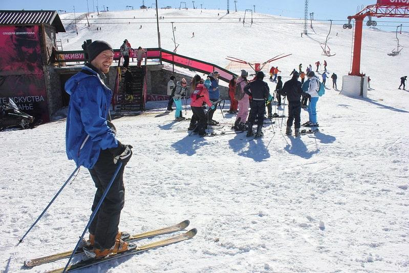 Wintersport in Nationaal Park Mavrovo