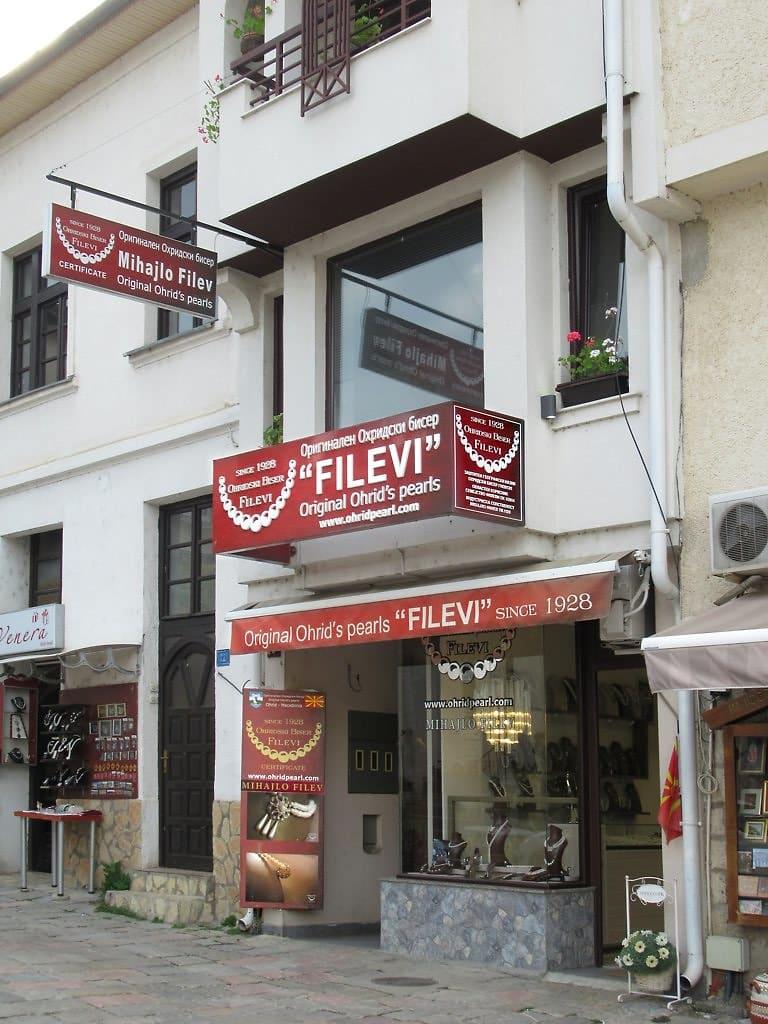 Ohrid parels winkel
