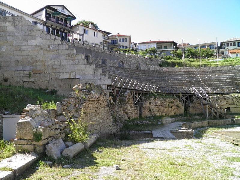 Theater van Ohrid