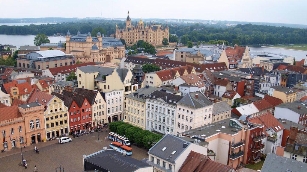 Schwerin uitzicht