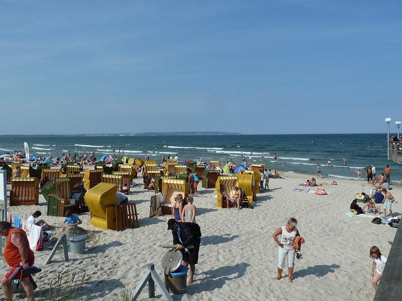 Strand bij Binz