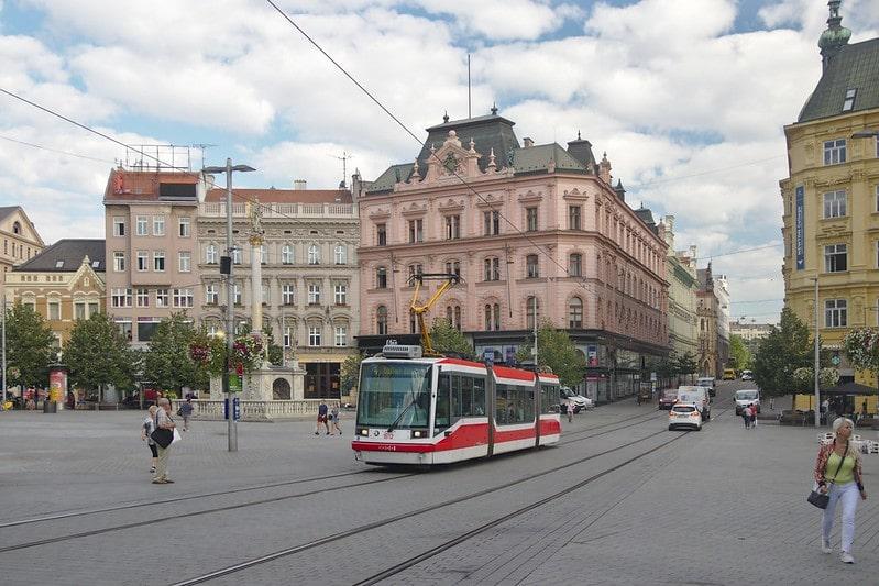 Brno binnenstad
