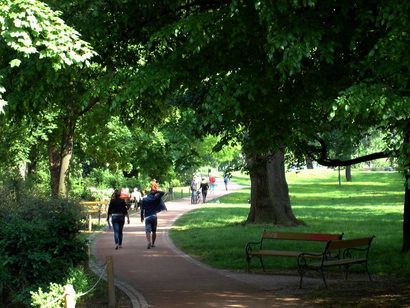 Luzanky Park Brno