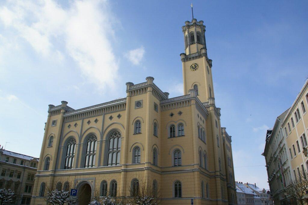 Gemeentehuis in Zittau