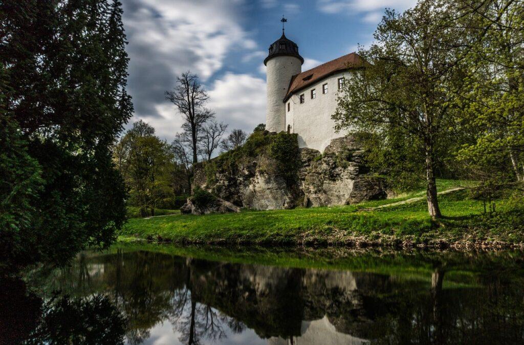 Burg Rabenstein aan de rand van Chemnitz