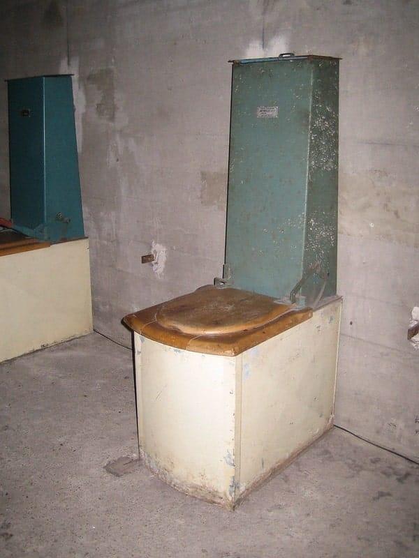 Toilet in de Berliner Unterwelten