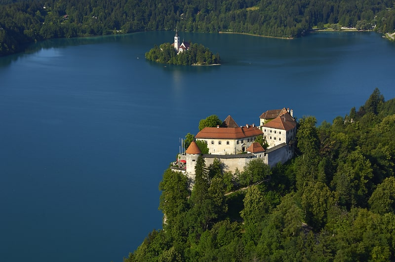 Mooiste kastelen van Slovenië - Kasteel Bled