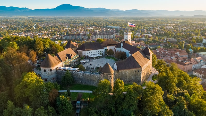 Mooiste kastelen van Slovenië - Ljubljanski Grad