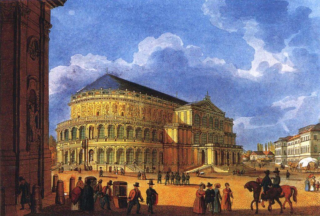 Allereerste Semperoper Dresden