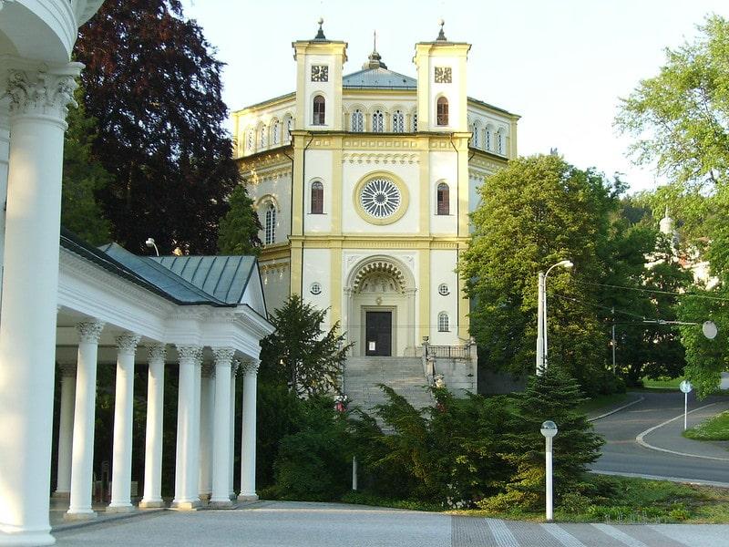 Kerk Marienbad
