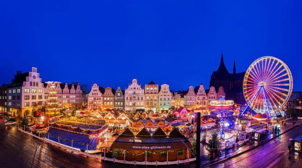 Kerstmarkt Rostock Neuer Markt