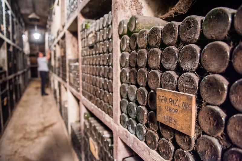 Oudste wijnkelder