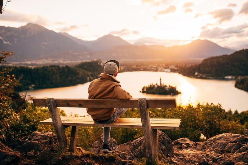 Uitzichtpunt Ojstrica Bled